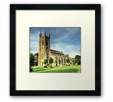 Holy Trinity Church Shaftesbury Framed Print