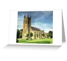 Holy Trinity Church Shaftesbury Greeting Card