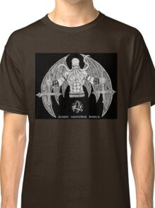 Death Metal Cthulhu (Raw Version) Classic T-Shirt