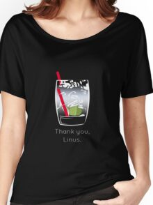 Thank you, Linus Women's Relaxed Fit T-Shirt