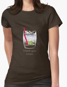 Thank you, Linus Womens Fitted T-Shirt