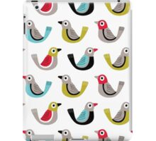 Birds Spieces [Climate Change 2015] iPad Case/Skin