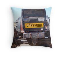 Worshond van Namakwaland Throw Pillow