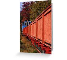 Autumn Stowaway  Greeting Card