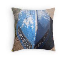 Visserskuit in Doornbaai Throw Pillow