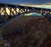 Crooked River Gorge by Joseph T. Meirose IV