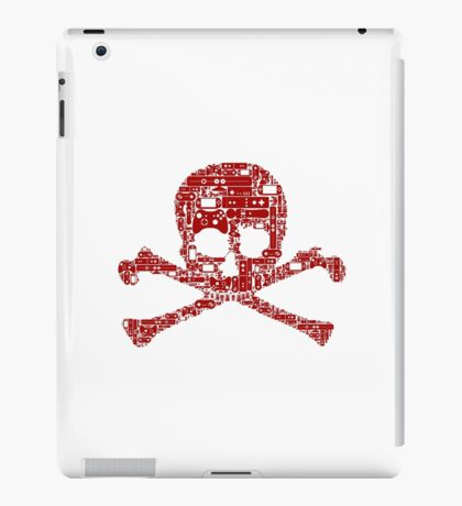 Gamer skull iPad Case/Skin