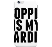 shopping is my cardio,  iPhone Case/Skin
