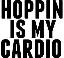 shopping is my cardio,  by Devon Rushton