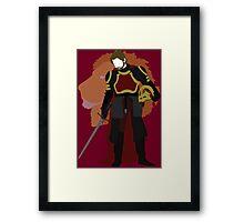 Jaime Lannister - A Game of Thrones Framed Print