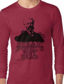 Jules Verne was a punk Long Sleeve T-Shirt