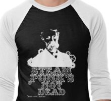 Jules Verne was a punk Men's Baseball ¾ T-Shirt