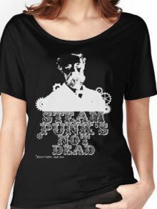 Jules Verne was a punk Women's Relaxed Fit T-Shirt