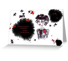 Lady Lucille Greeting Card