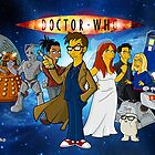 Doctor Who Goes Simpson  by WhovianLillie