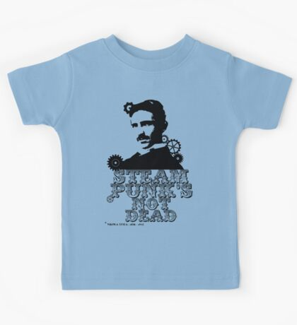 Nikola Tesla was a punk Kids Tee