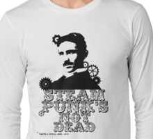 Nikola Tesla was a punk Long Sleeve T-Shirt
