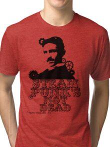 Nikola Tesla was a punk Tri-blend T-Shirt