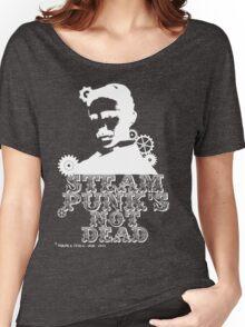 Nikola Tesla was a white punk Women's Relaxed Fit T-Shirt