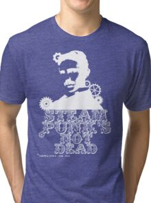 Nikola Tesla was a white punk Tri-blend T-Shirt