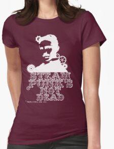 Nikola Tesla was a white punk Womens Fitted T-Shirt