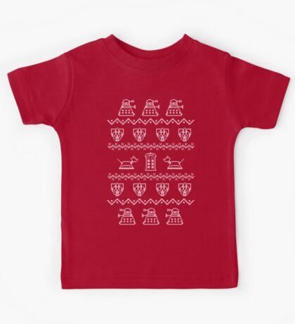 Timey Wimey Sweater Kids Tee