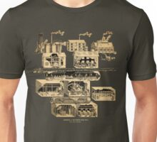Amnesia: A Machine For Pigs full map  Unisex T-Shirt