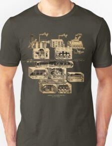 Amnesia: A Machine For Pigs full map  T-Shirt
