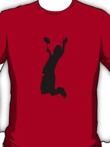 Badminton Player Smash T-Shirt