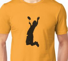 Badminton Player Smash Unisex T-Shirt