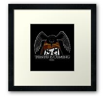 Tonto Is Coming Framed Print