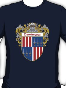 Domínguez Coat of Arms/Family Crest T-Shirt