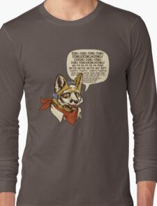 What Does the Star Fox Say? Long Sleeve T-Shirt