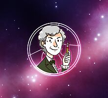 50th Anniversary 3rd Doctor by nowaitwhat