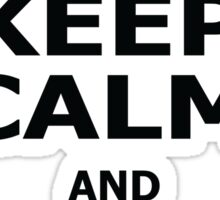 Keep Calm and Cook Meth Sticker