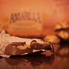 A Sweet Treat, Amarula Chocolate, Closeup... by Qnita