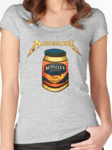 Hetfield's Mayonnaise Women's Fitted Scoop T-Shirt
