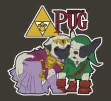 Legend of Pug: Zelda/Pug Cross by BaronNobody