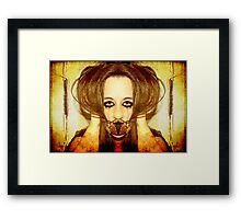 Silence no longer (please read description) Framed Print