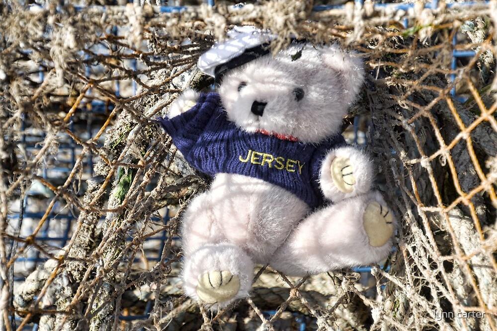 Meet Josh The Jersey Bear.......... by lynn carter