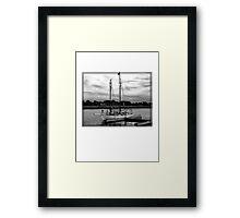 Safe Abode Framed Print