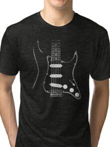 black glowstrings  Tri-blend T-Shirt