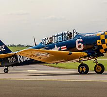AT-6C Harvard IIa 41-33262 G-TSIX by Colin Smedley