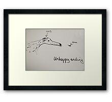 Dalmatian & Bee Framed Print
