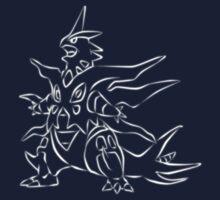 Mega Tyranitar - Pokemon X Y  by Geministik
