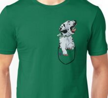 Pocket Puppiez - Dalmatian Unisex T-Shirt