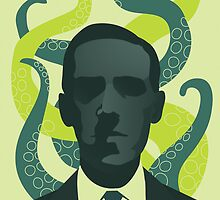 HP Lovecraft by Emily Cheeseman