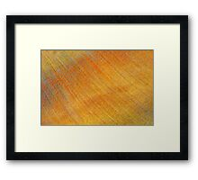 flowering castelluccio 2 Framed Print