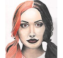 Portrait of Ash Costello Photographic Print