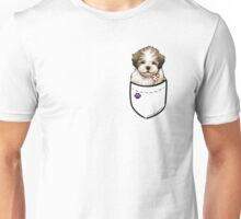 Pocket Puppiez - Lhasa Apso Unisex T-Shirt
